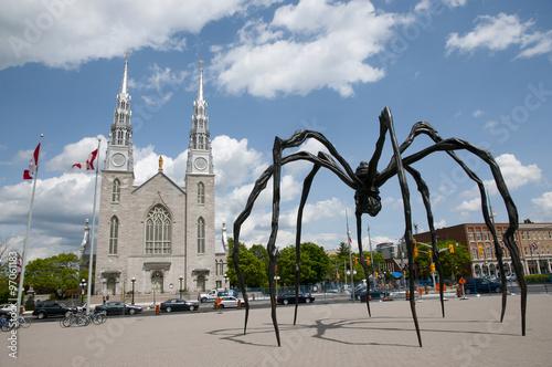 Spider Statue - Ottawa - Canada