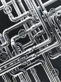 Metal water pipes - 97067914