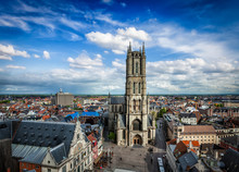 Saint Bavo Cathedral And Sint-...