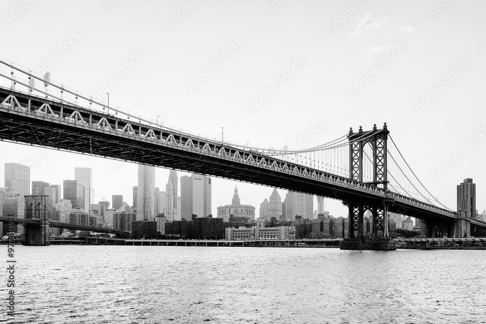 Fotografía Manhattan Bridge, New York   Europosters.es