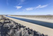 California Aqueduct Near Los A...