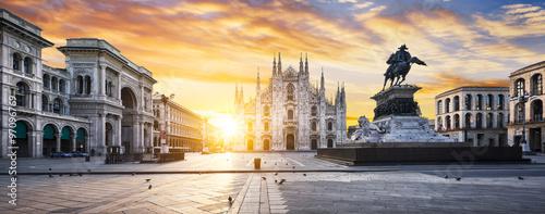 Deurstickers Milan Milano spirit