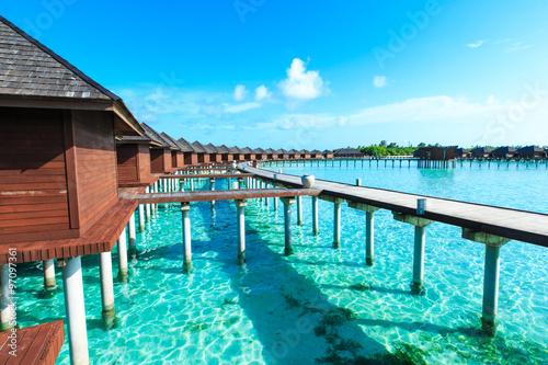Foto auf Gartenposter Strand Maldives