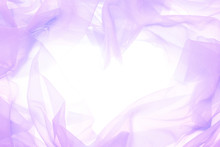 紫の布のフレーム