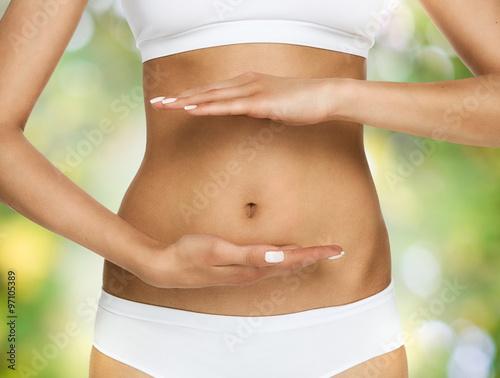 Obraz Pregnancy or diet concept - fototapety do salonu