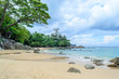Laem Singh Beach is one of Phuket's most beautiful beaches and hides on the west coast between Kamala and Surin beaches