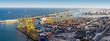 Leinwandbild Motiv Port in Barcelona