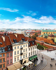 Panel SzklanyPanoramic view of Warsaw