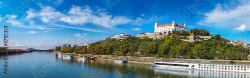 Medieval castle  in Bratislava, Slovakia Wallpaper Mural