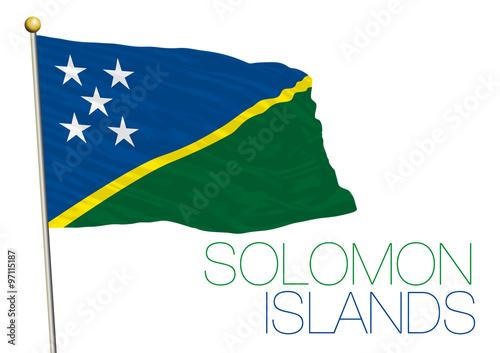 278409f912aa salomon islands flag - Buy this stock vector and explore similar ...