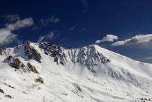 Ski Resort Passo Tonale, Italy...