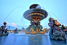 Fountain On Place De La Concor...