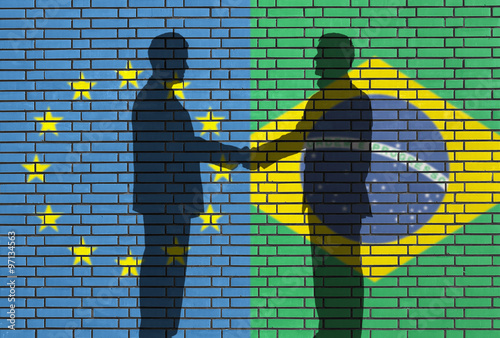 Fotografía  EUROPEAN UNION - BRAZIL business