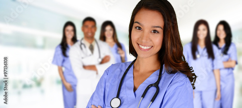 Fotografia  Nurse In Hospital