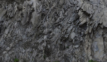 Grey Rock Mountain Panorama Background - Stone Texture
