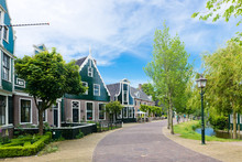 Traditional House At The Historic Village Of Zaanse Schans, Neth