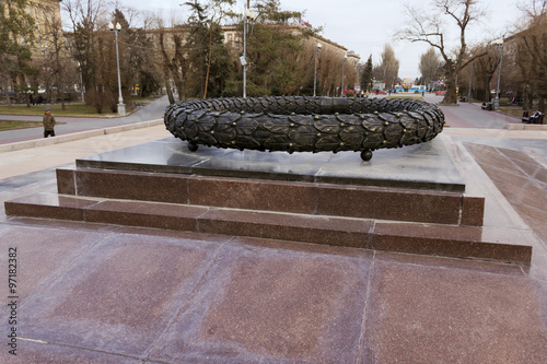 Памятник Бронзовый лавровый венок Canvas-taulu