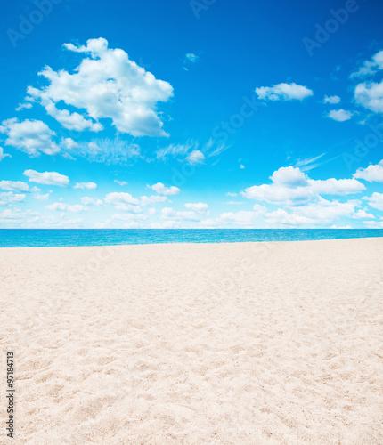 Fotoposter Strand Seychelles beach