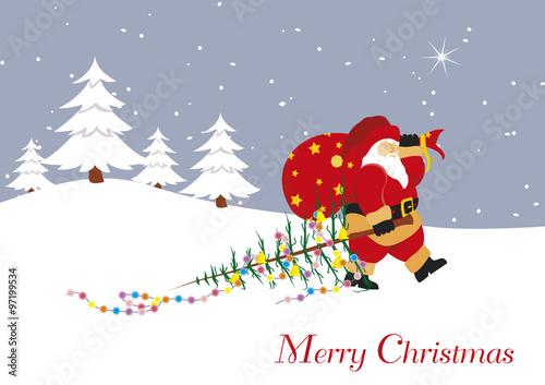 Fototapety, obrazy: Christmas Card