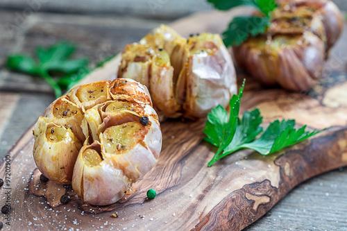 Photo  Roasted Garlic