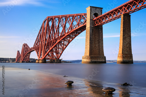Poster Bridge Forth Rail Bridge