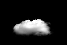 Beautiful Single White Cloud I...