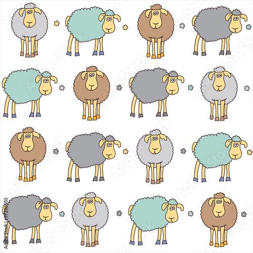 Wzór z owiec