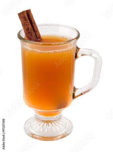 Apple Cider and Cinnamon Stick