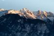 Sunsrise in the Alps - Innsbruck /  Inntal
