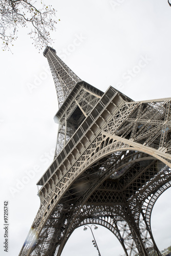 Tour Eiffel in Paris, low angle view - 97215742