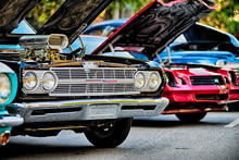 Classic Car Show In Historic O...