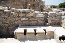 Public Toilets Of Ephesus Anci...