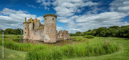 Foto op Plexiglas Kasteel Caerlaverock Castle