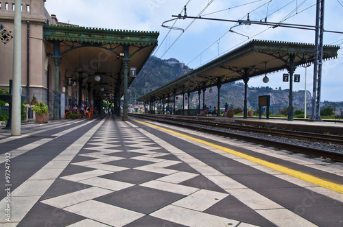 Fototapety, obrazy: Old Train Station of Giardini Naxos on the Isle of Sicily
