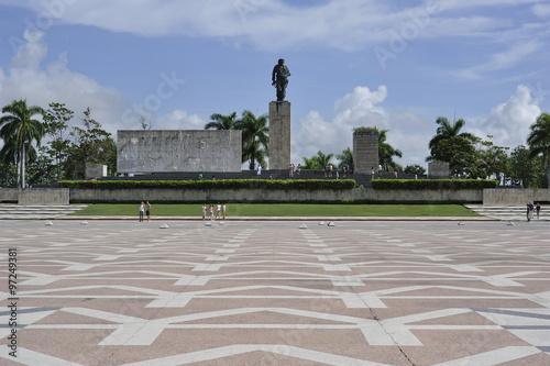 Valokuvatapetti The Che Guevara Mausoleum in Santa Clara, Cuba.