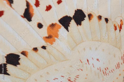 In de dag Panter Leopard fabric pattern,silk fabric