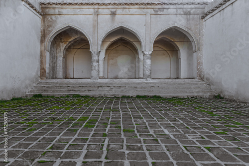 Photographie  Intérieur de la vieille demeure en Irak