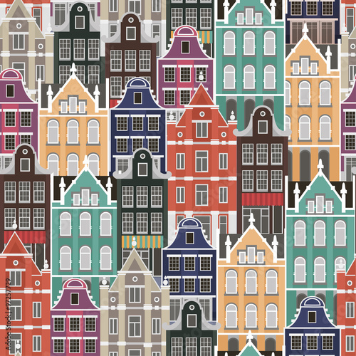 wektorowy-kolorowy-bezszwowy-wektorowy-tlo-z-holland-domami-narodowymi
