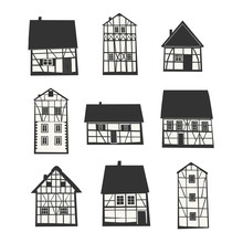Traditional Half Timbered Houses