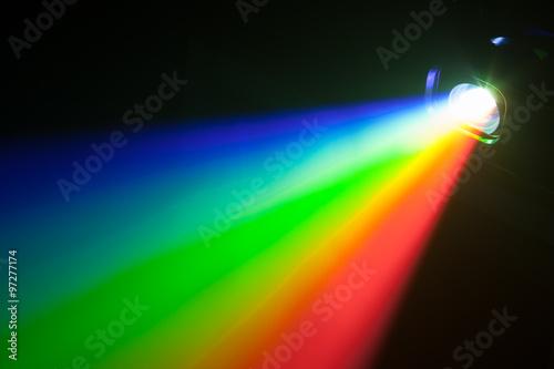 Fotografie, Tablou rgb spectrum light of projector
