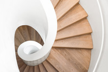 Spiral Staircase Inside The Bu...