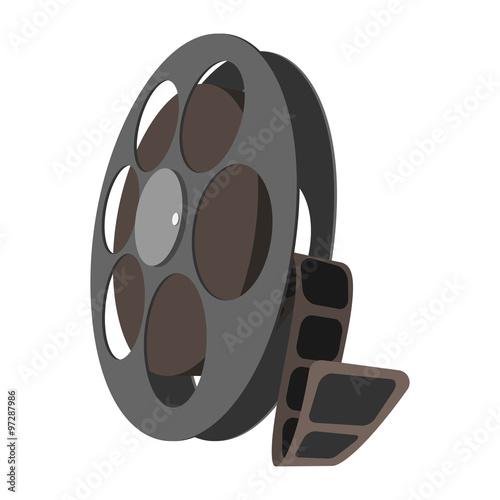 Fényképezés  Videotape cartoon icon