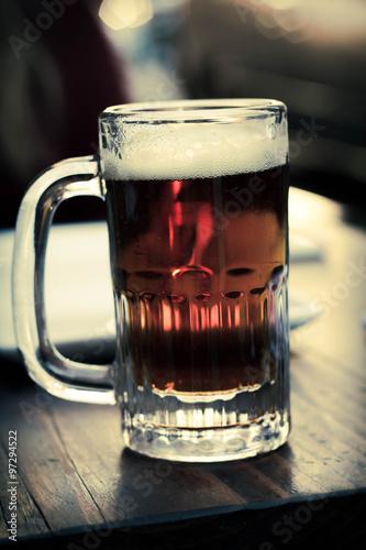 Photo  Cold Mug of IPA Beer