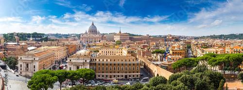 Fototapeta Rome and Basilica of St. Peter in Vatican obraz