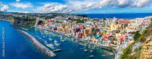 Foto auf AluDibond Neapel Procida island in Italy