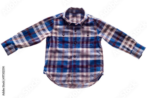 fc90160adf9 Plaid flannel shirt - Buy this stock photo and explore similar ...