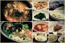 Korean Food Collage