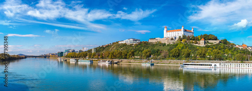 Canvas Print Medieval castle  in Bratislava, Slovakia