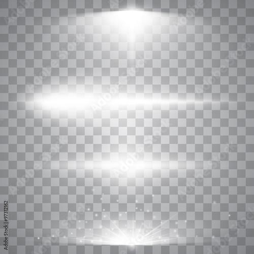 Set of light effects Canvas-taulu