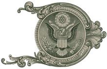 Great Seal, US One Dollar Bill...